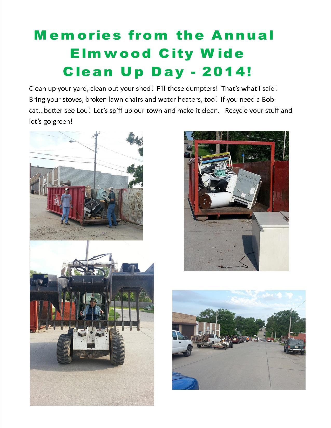 Elmwood City Wide Clean up 2014