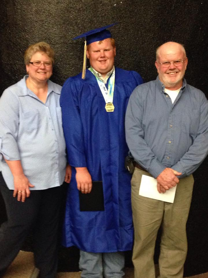 Tanner and parents