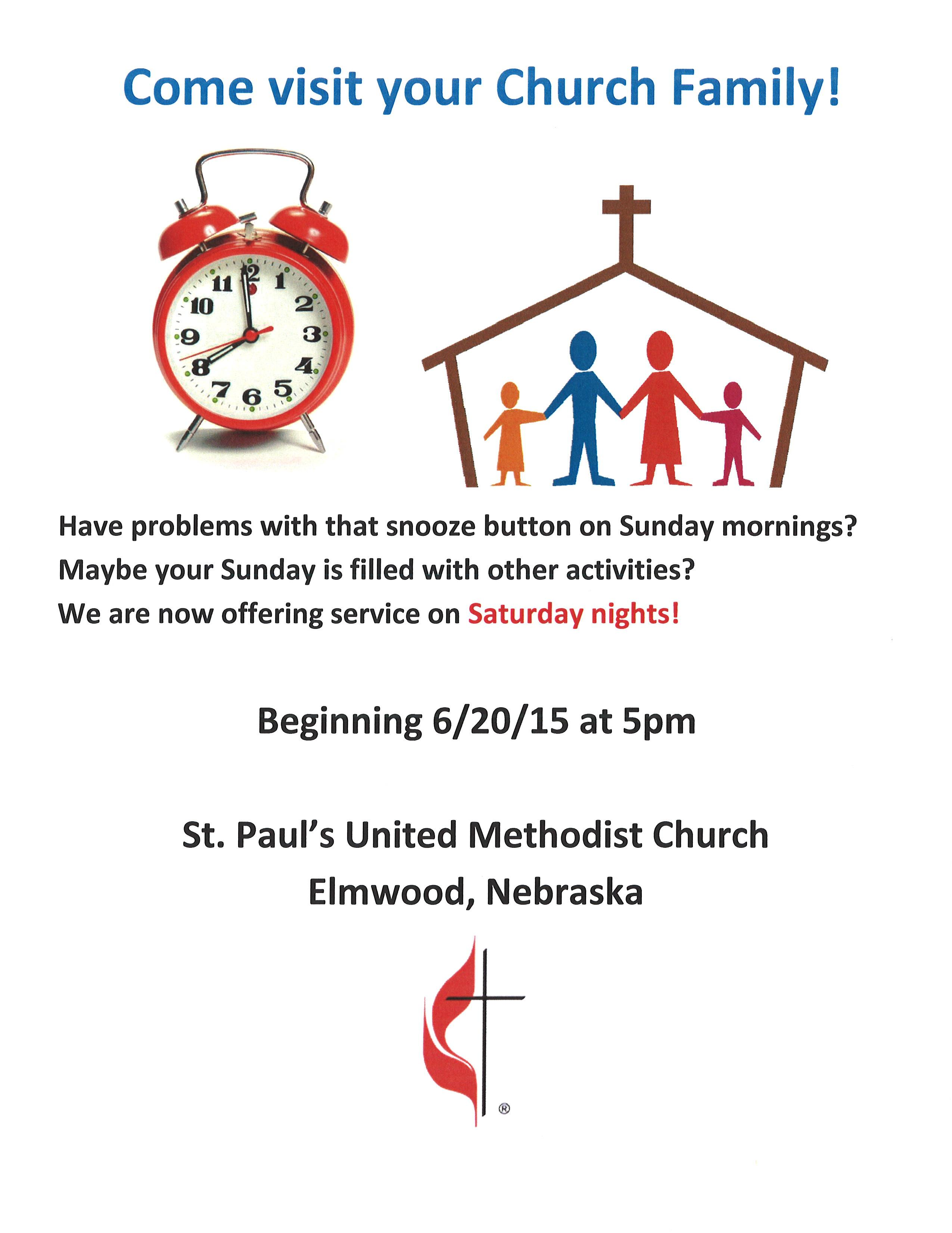 Methodist Sat Service