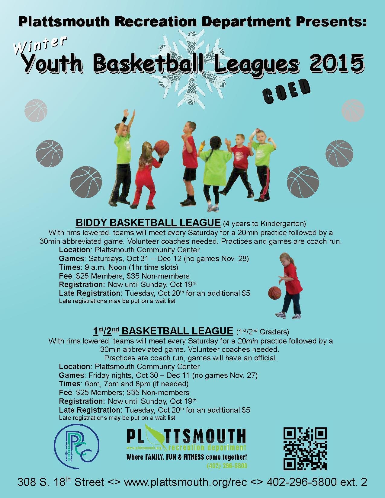 Youth Basketball Flier 2015