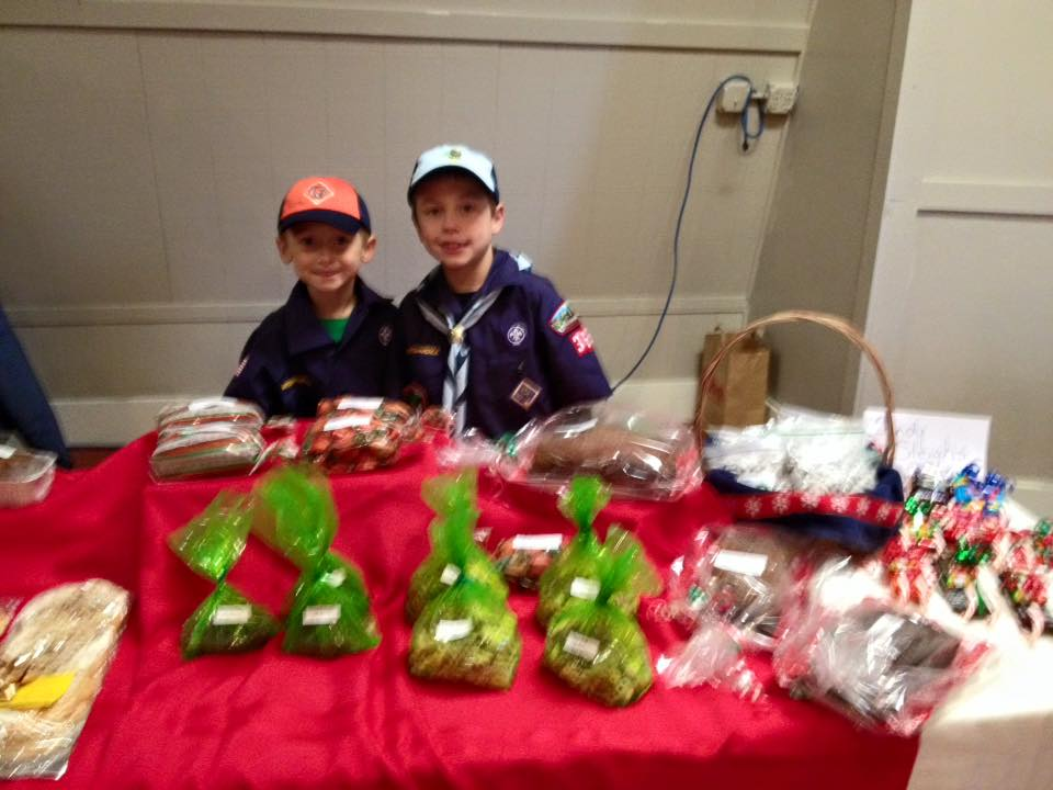 Craft Show Cub Scouts stand