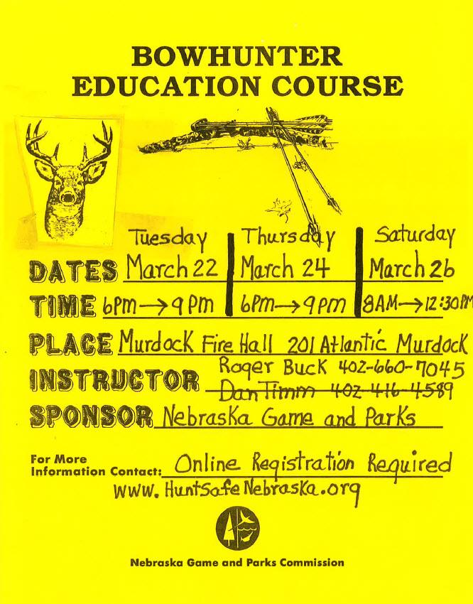 Bowhunter course