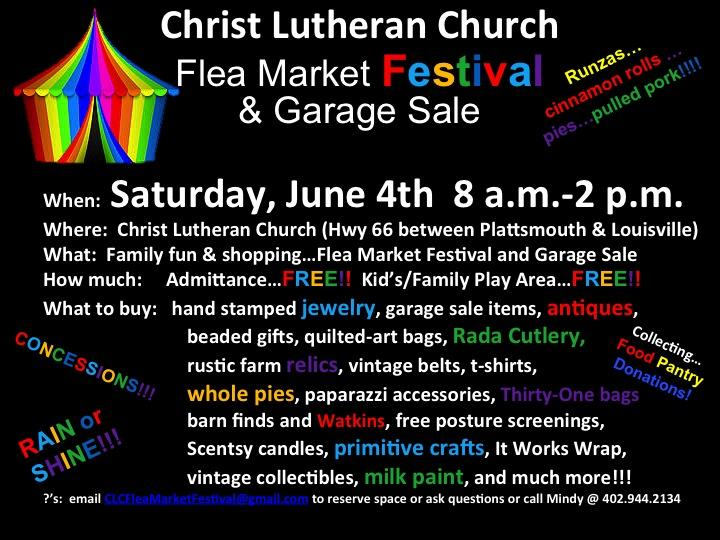 Christian Church Flea Market