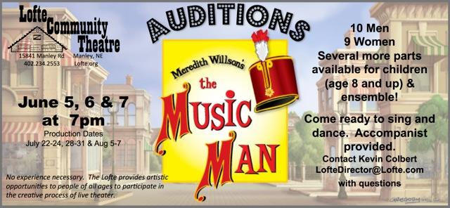 Music Man Audition