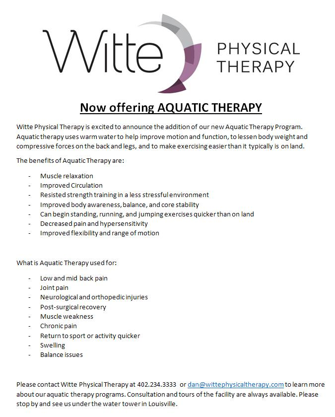 WittePhysical Therapy 111616