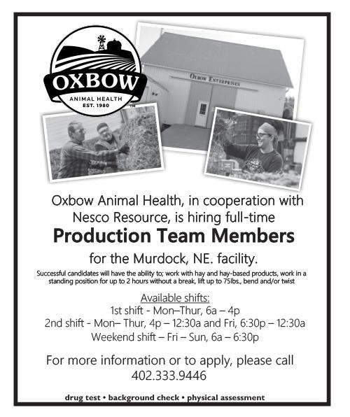 Oxbow EmploymentOpp Productiom