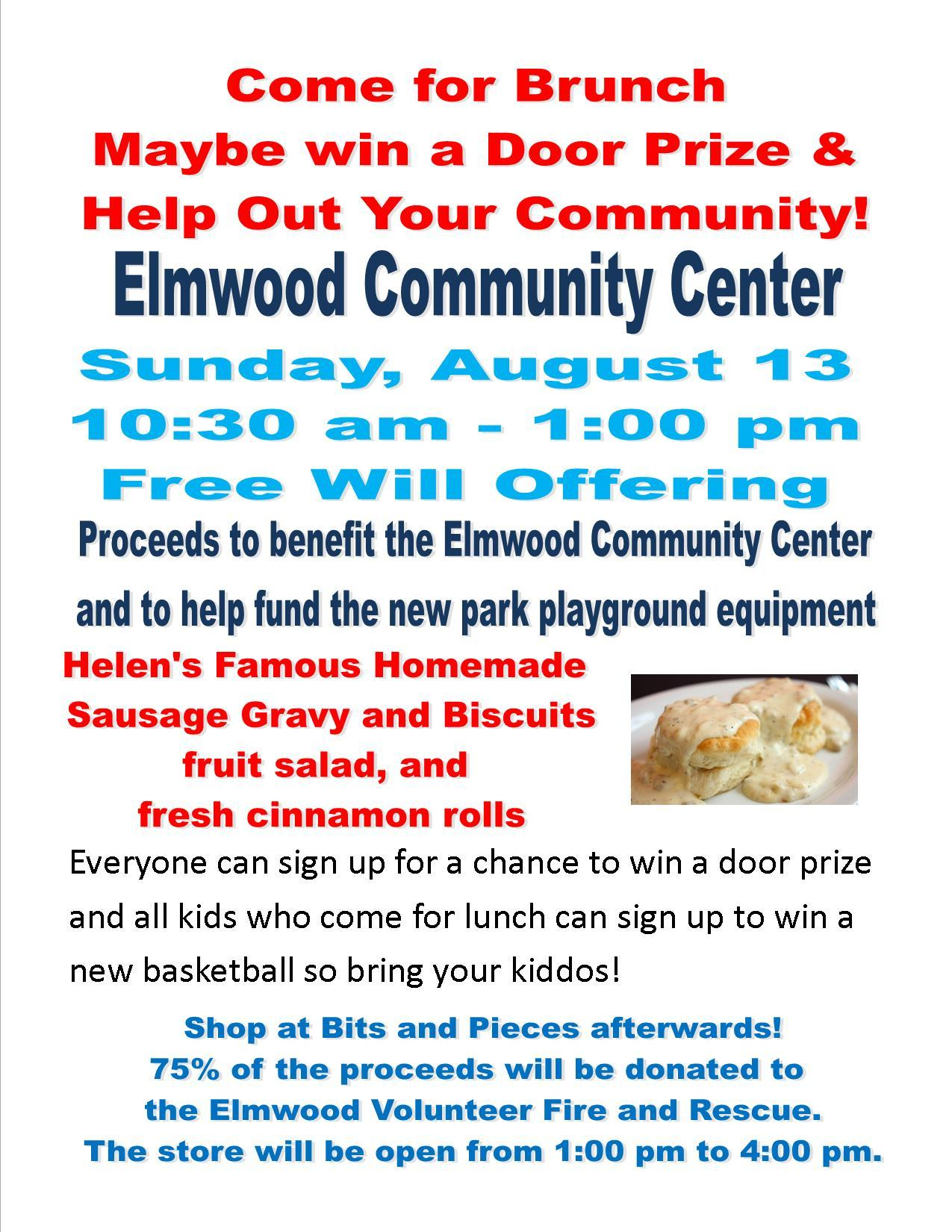fundraiser for ECC and park 1