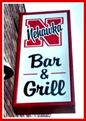 2016 12 07 NEHAWKA BAR and GRILL sign
