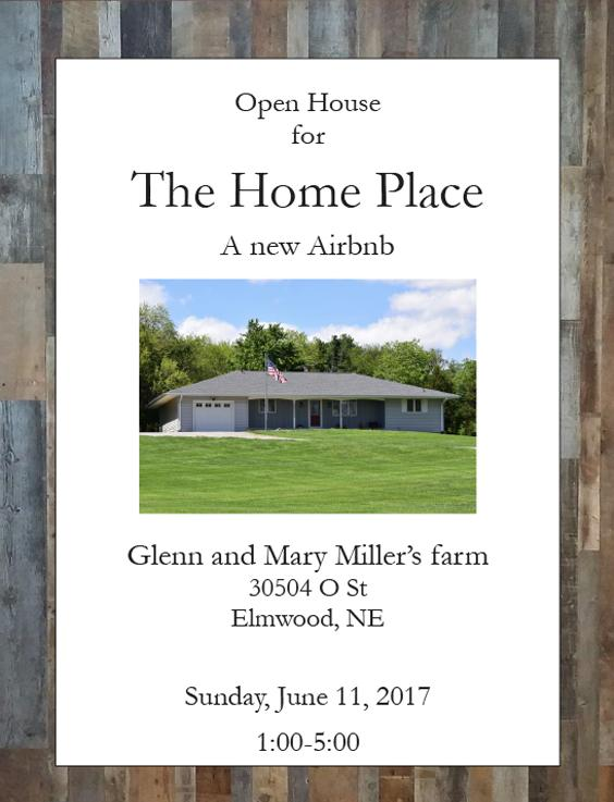 The Home Place flyer