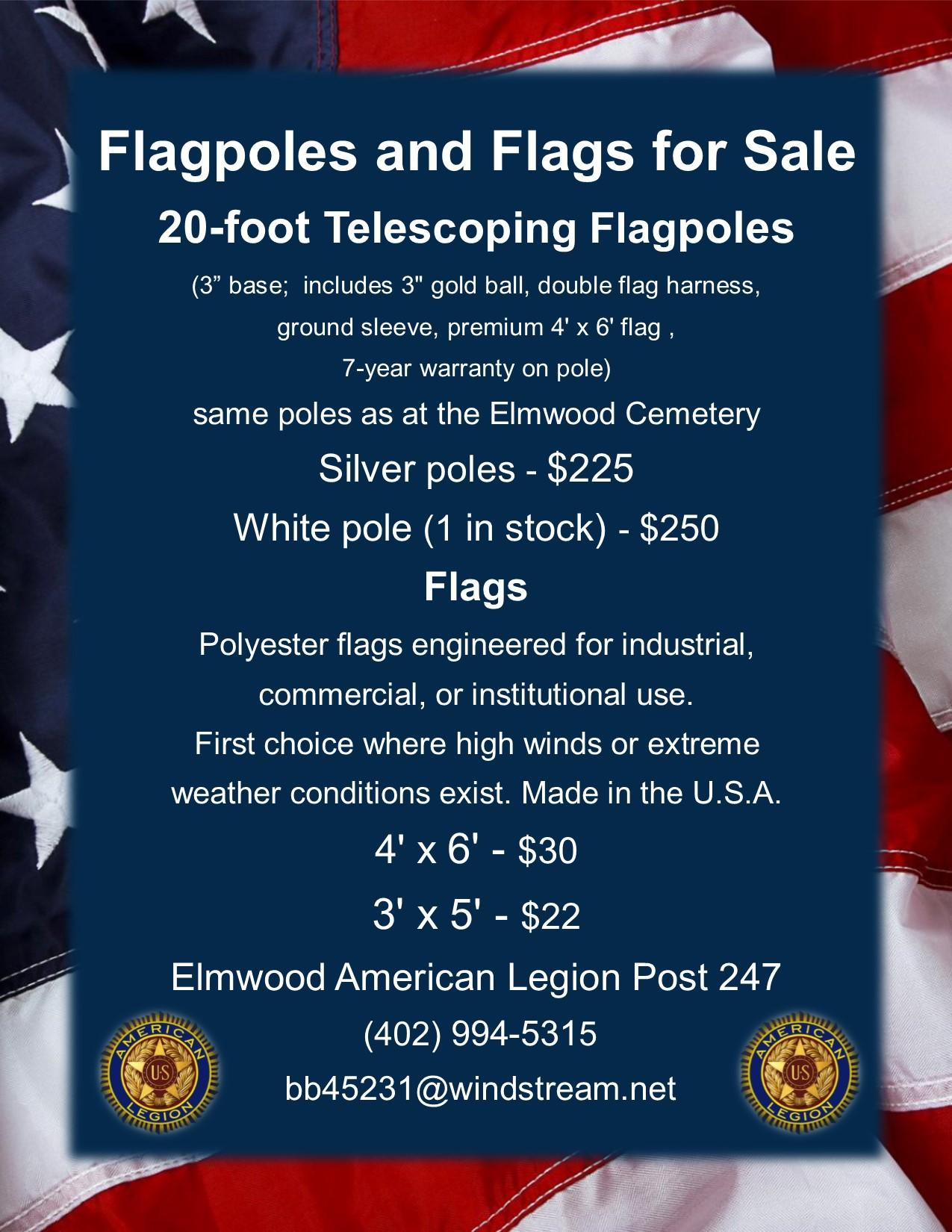 Flagpoles for Sale 2017