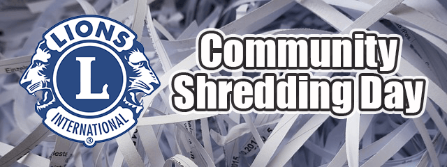 CommunityShreddingDay