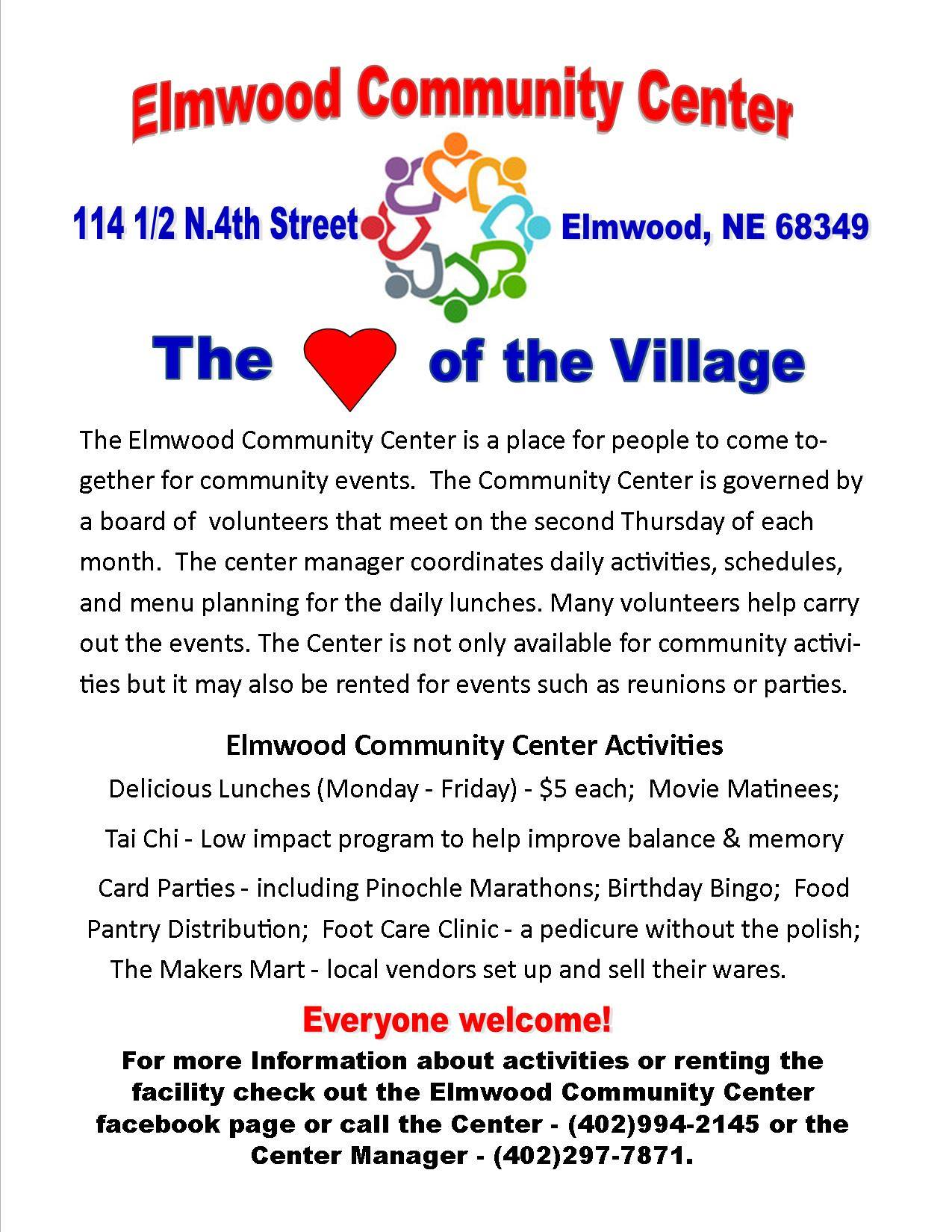 elmwood communitycenter Jan 2019