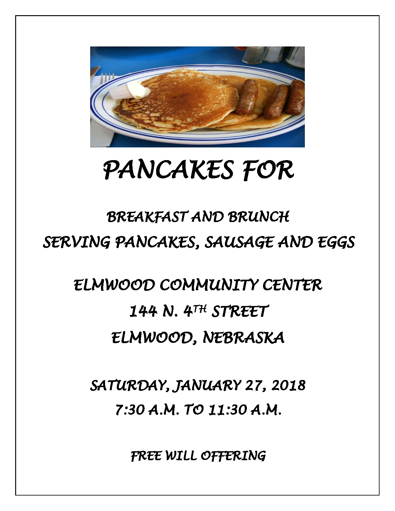 PANCAKES FLYER community center page0001