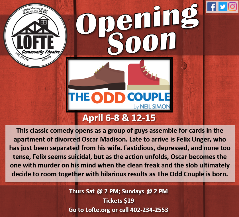 Lofte The Odd Couple