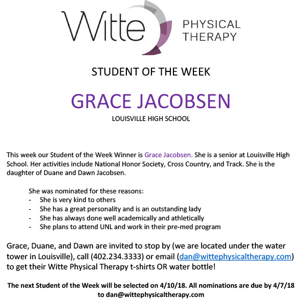 Student of the Week Selection 24