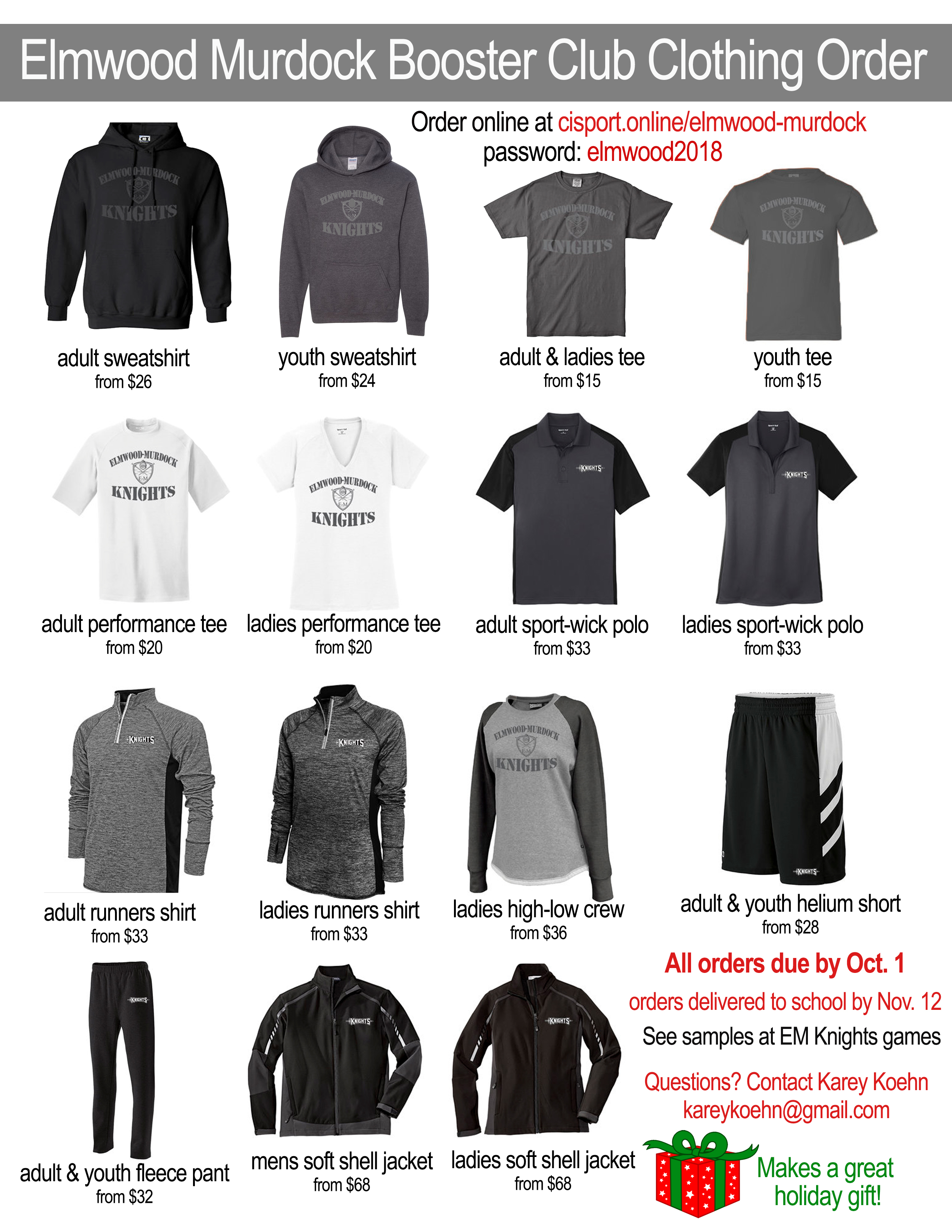 2018 Clothing Order Flyer Final