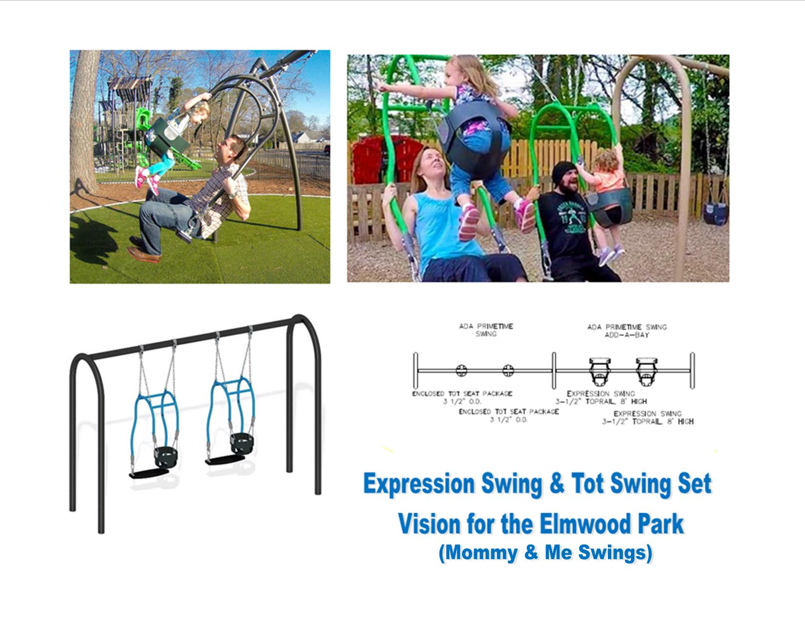 Expression Swing vision for park