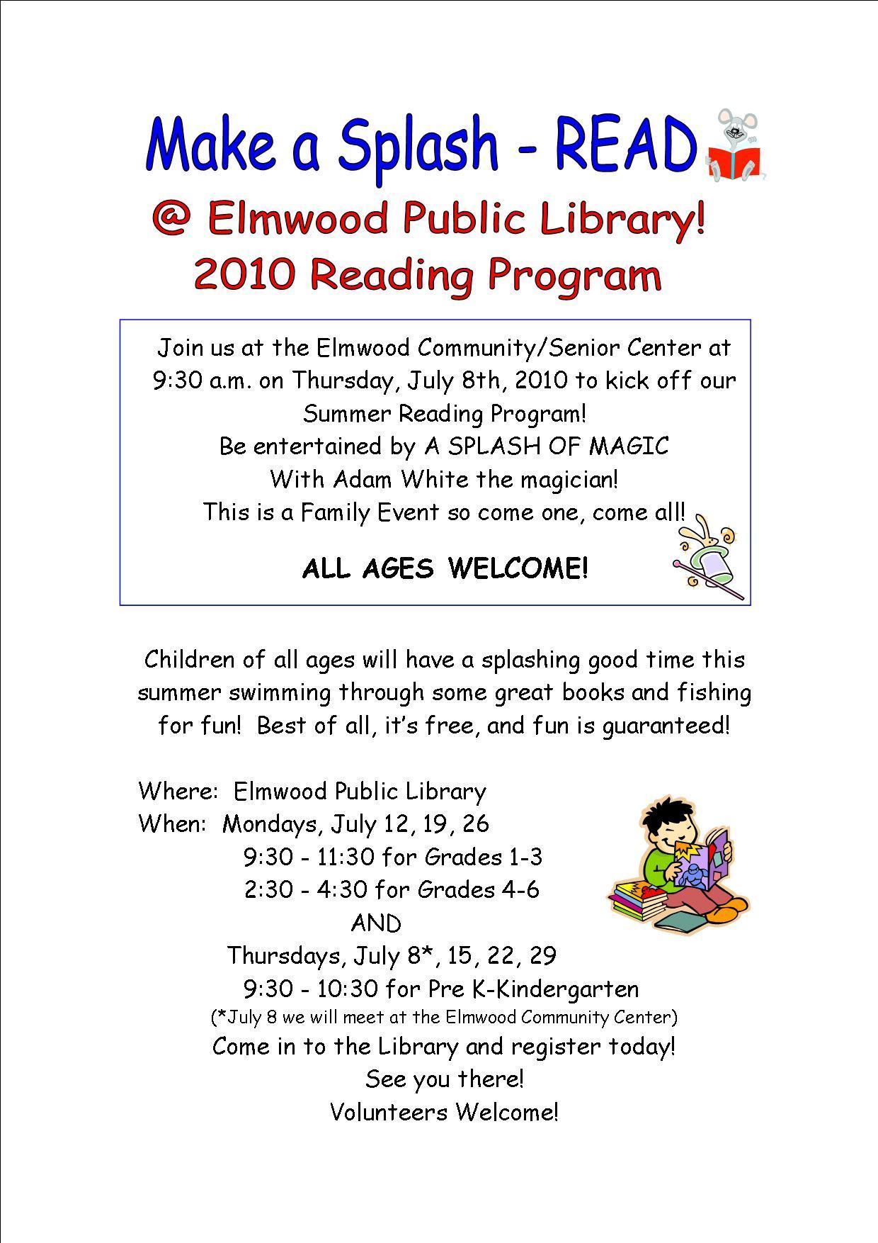 Elmwood Newsletter July th