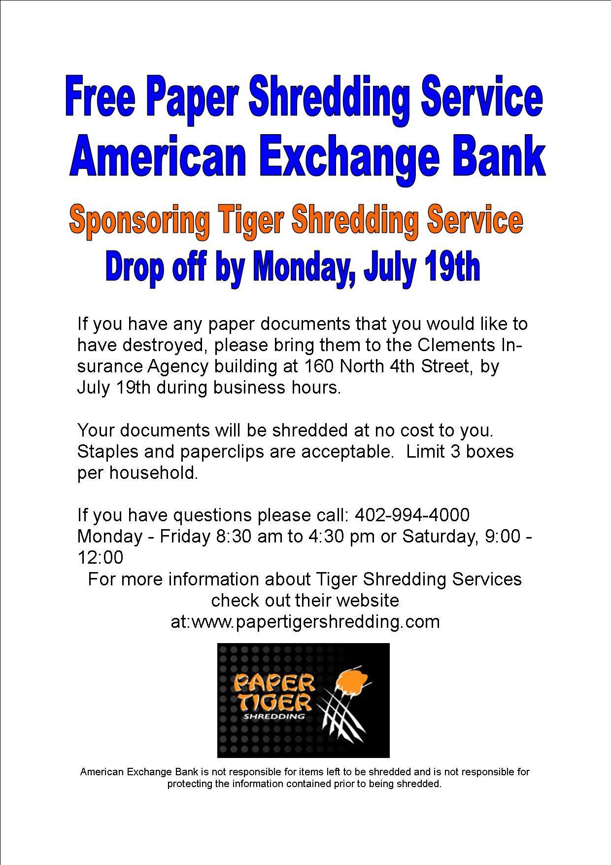 Tiger Shredding & Recycling