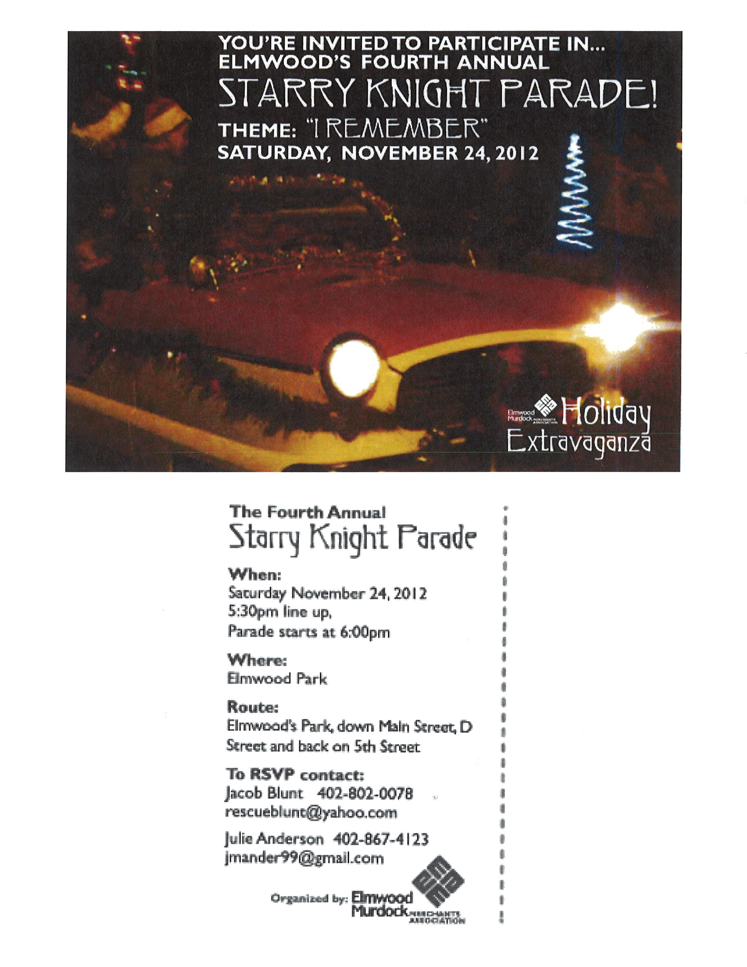 Gmail themes holiday - Holiday Extravaganza_parade_flyer