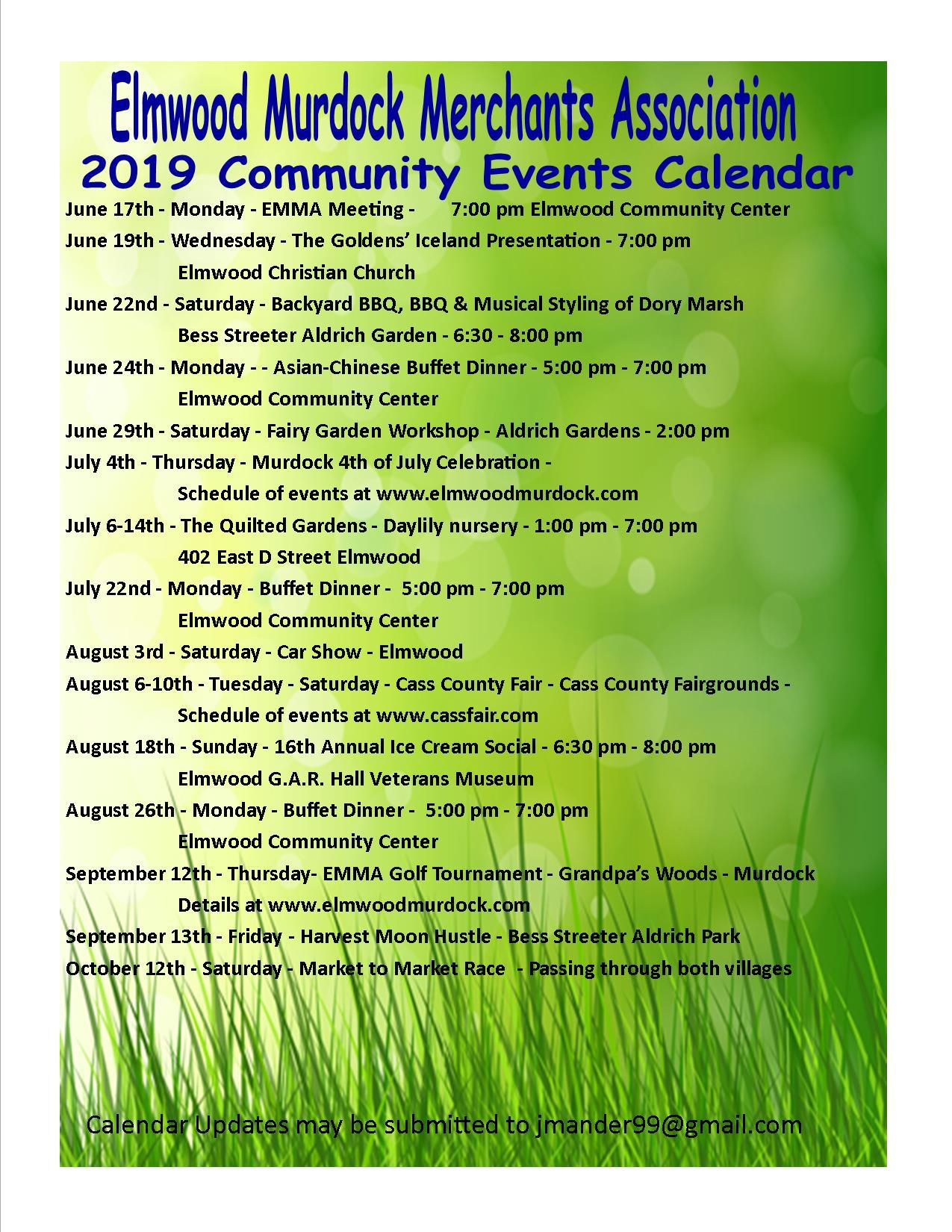 Elmwood News - July 10, 2019