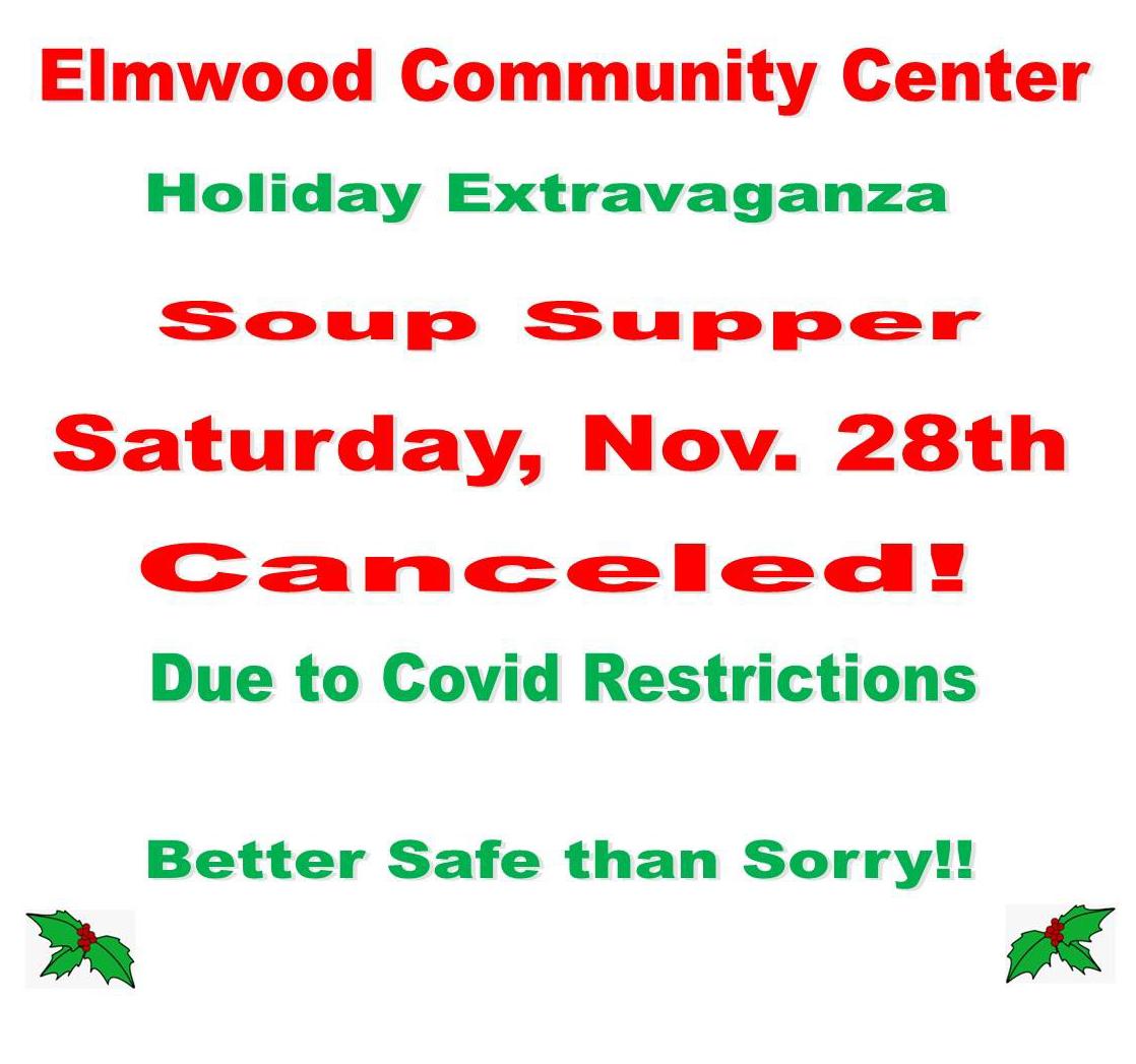 Community Center soup dinner ED